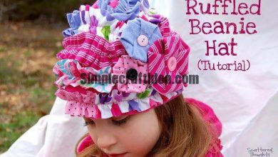 Old T-shirts for girls summer hat