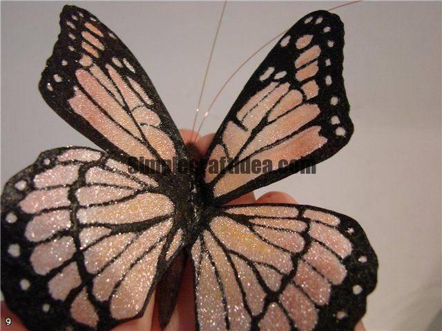 Organza butterfly