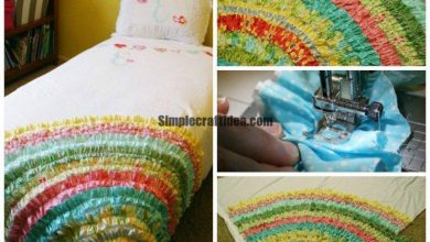 Bedspreads with ruffles