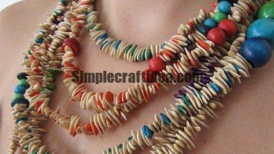Melon seeds necklace