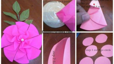 Flower design for gift box