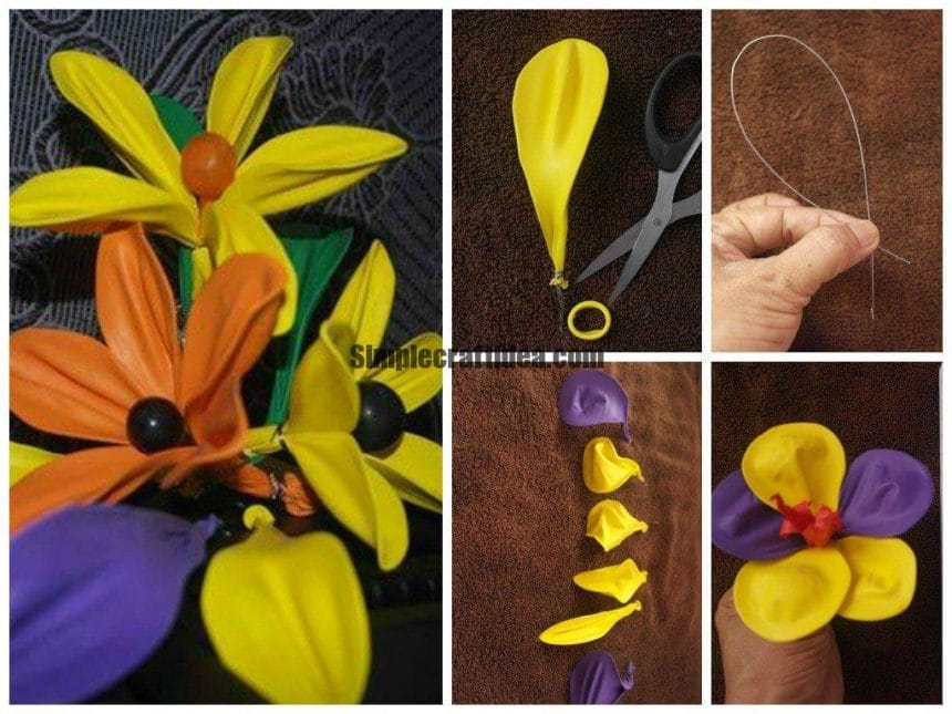 Balloon flower making