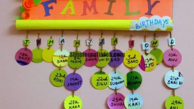 Birthday reminder wall hanging