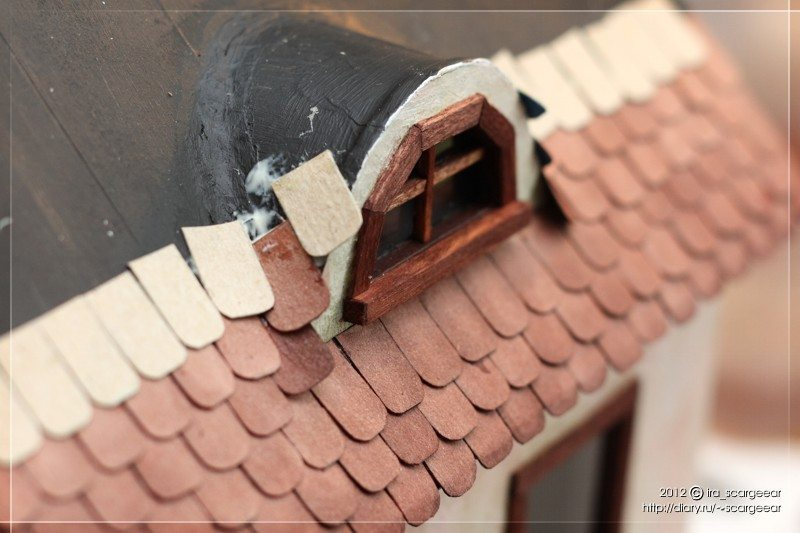 Making house-to attics mouse - Simple Craft Ideas