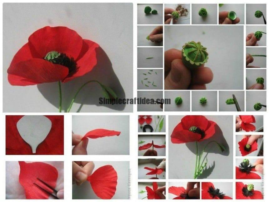Maki flower making