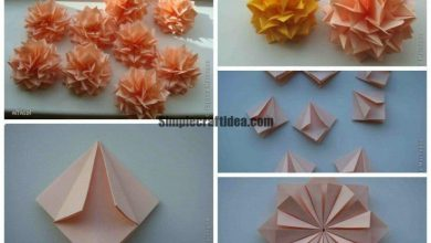 Dahlias -Easy Craft Ideas