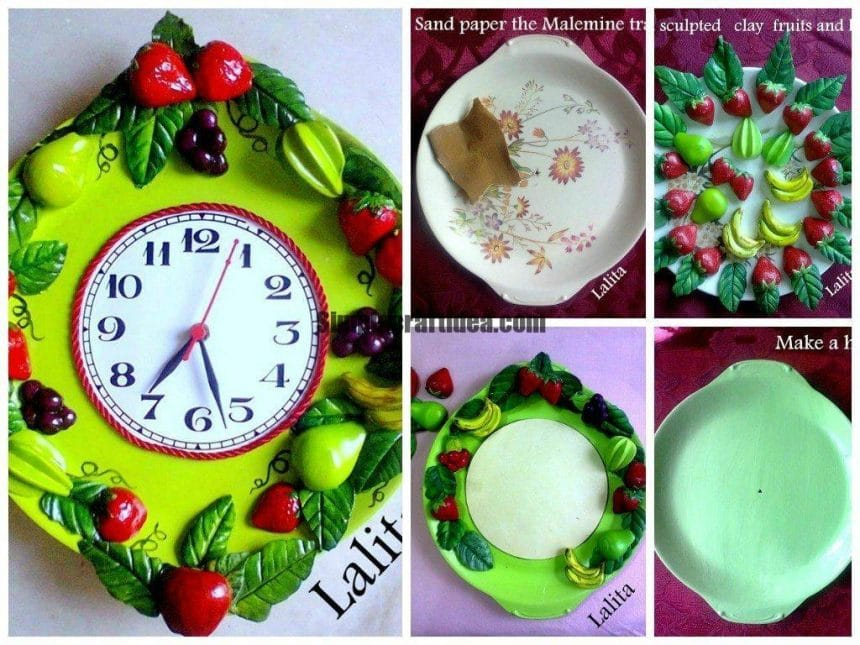 Recycle your old trays or plates