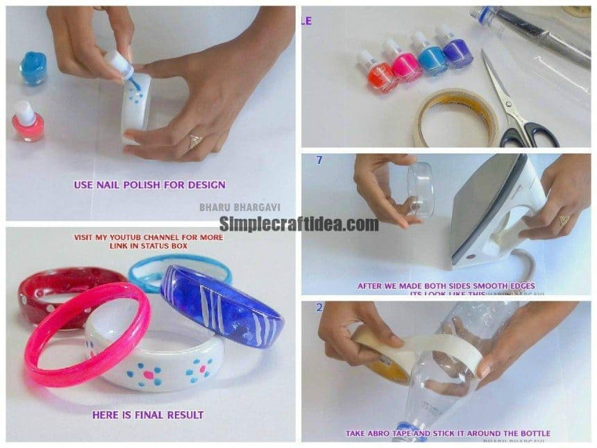 Bracelets From Recycling Plastic Bottles