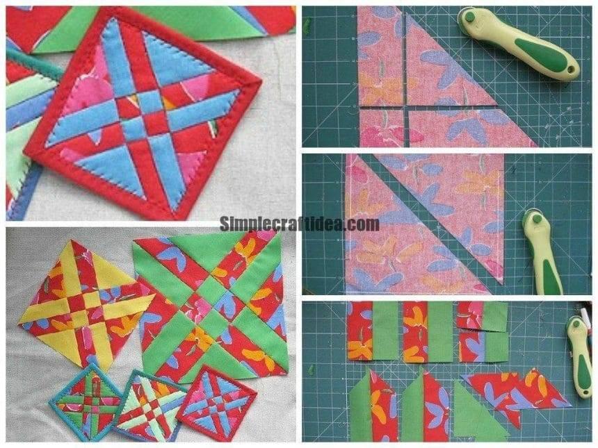 Sew fast simple block