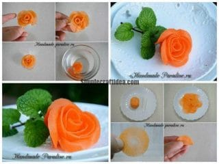 Rosa carrot for the holiday table