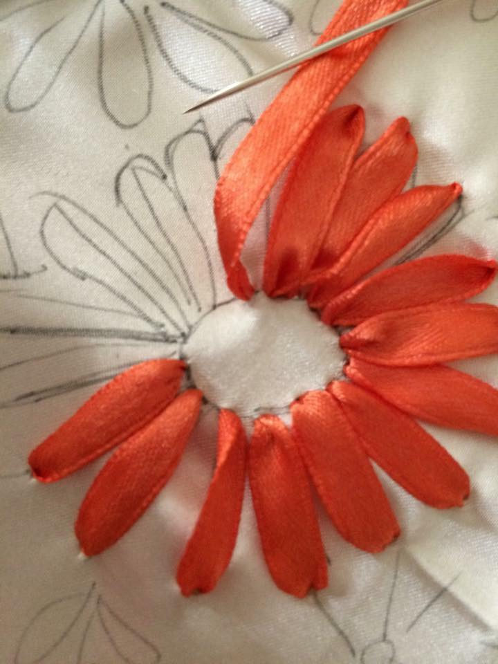 Ribbon Embroidery Simple Craft Ideas