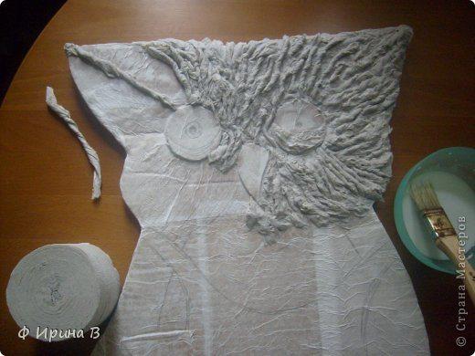 Из туалетной бумаги  мастер класс