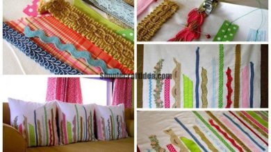 How quickly make fun pillowcases