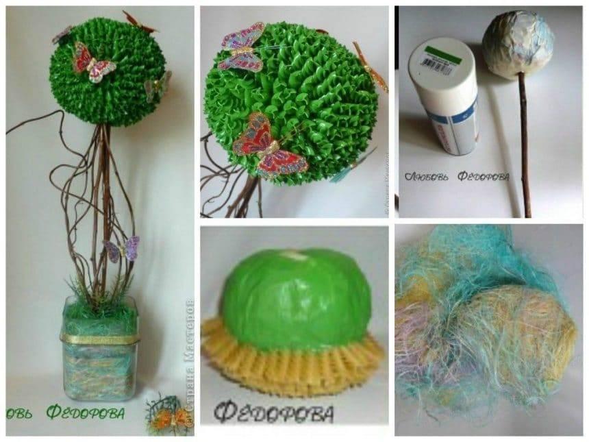 Pasta topiary