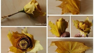 Manufacture of autumn roses