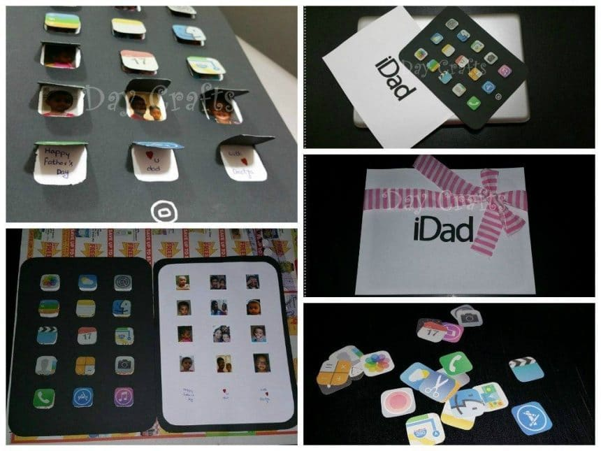 Father's day card making