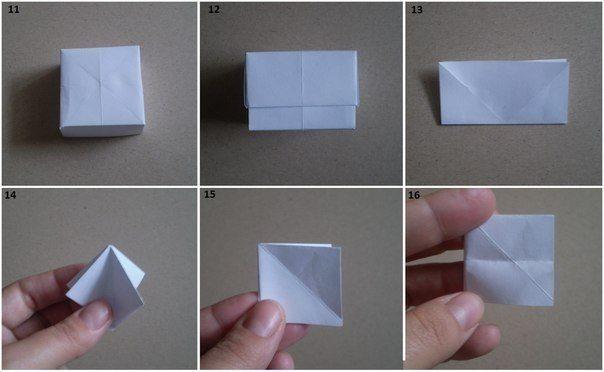 Как сделать коробочку поэтапно фото