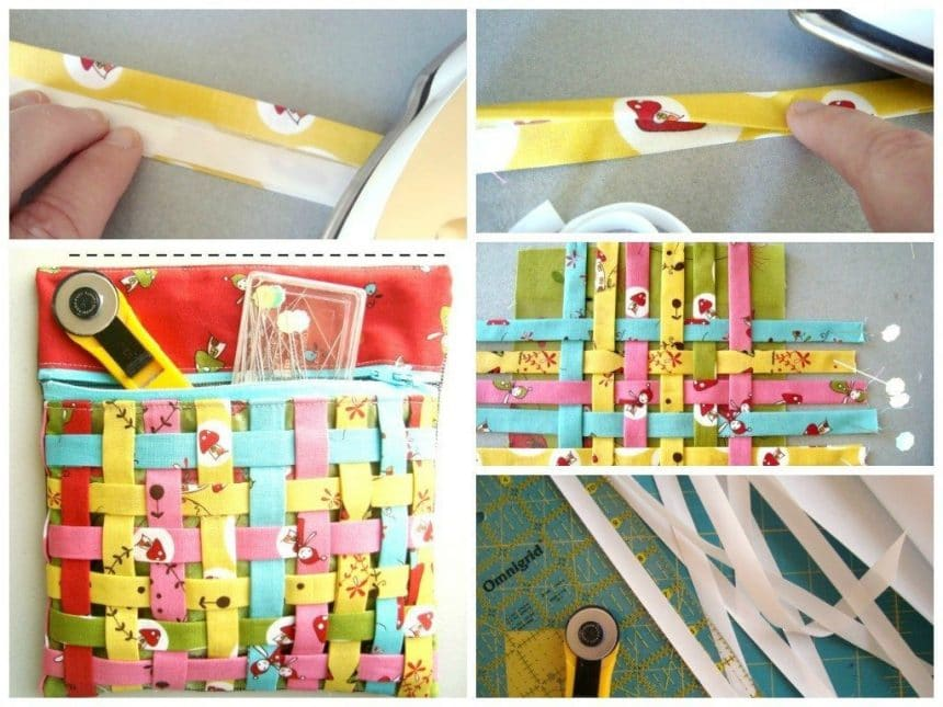 How to fabric weaving