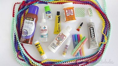 Types of adhesives for crafts