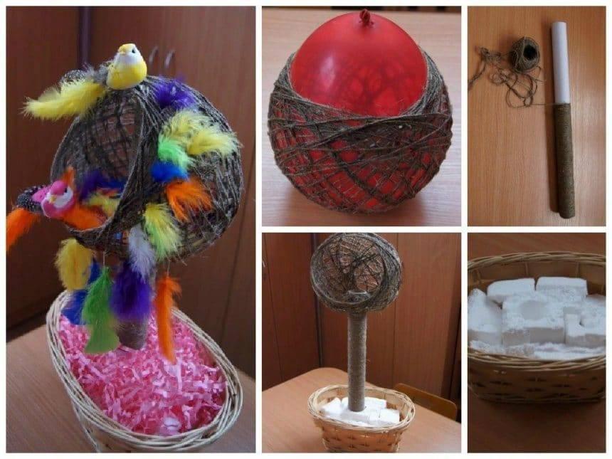 Nest for birds of paradise