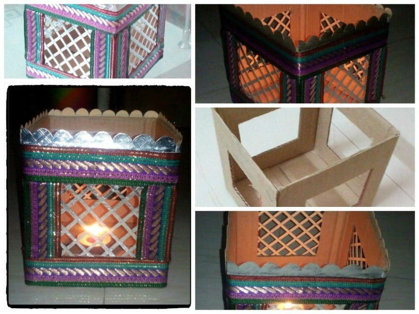 Diy A Stand Out Of Waste Empty Box Simple Craft Ideas