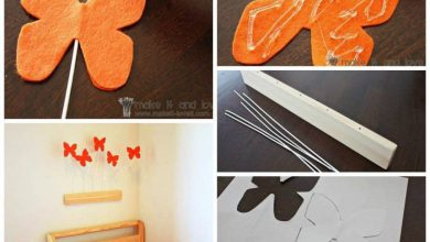 Decorate the room with butterflies