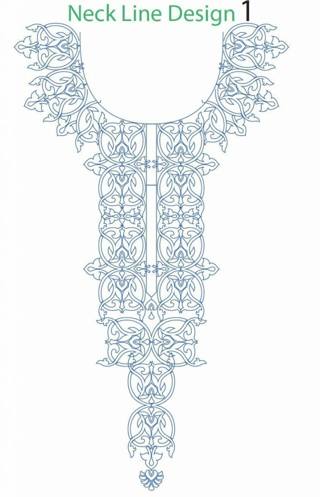 Hand embroidery designs for kurtis neck simple craft ideas