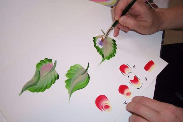 Учимся рисовать акриловыми красками