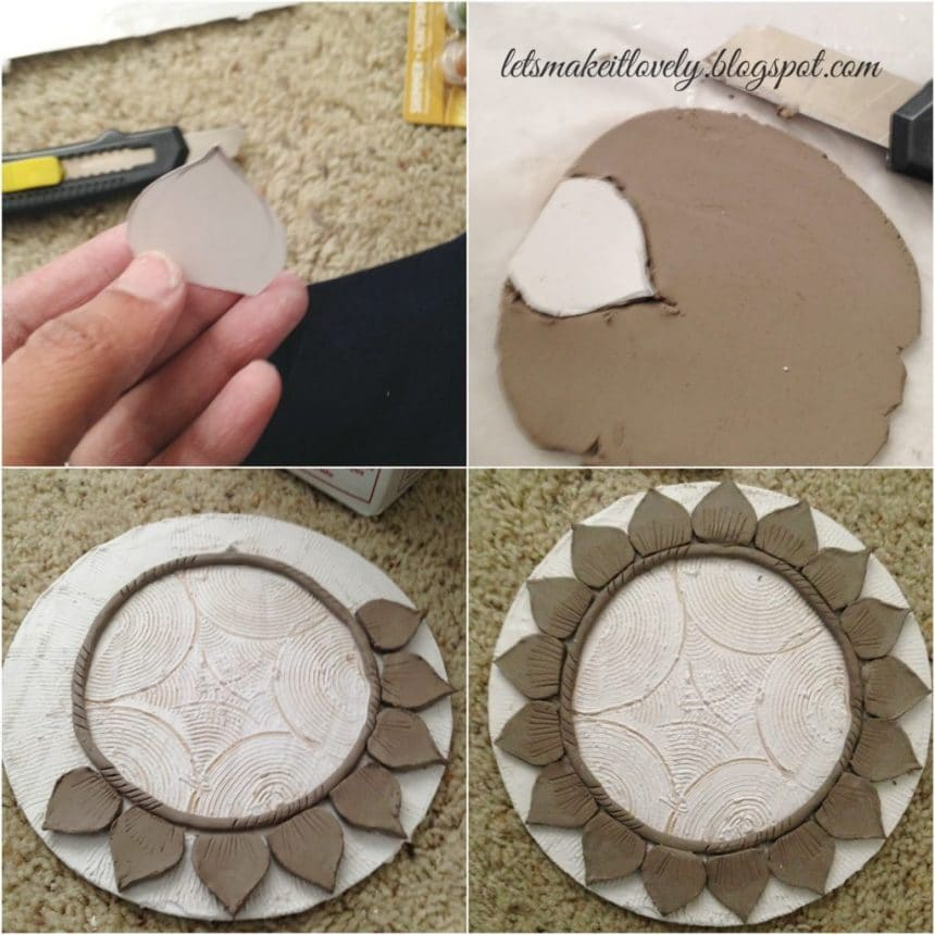 Learn to make a clay mural simple craft ideas for Clay mural making