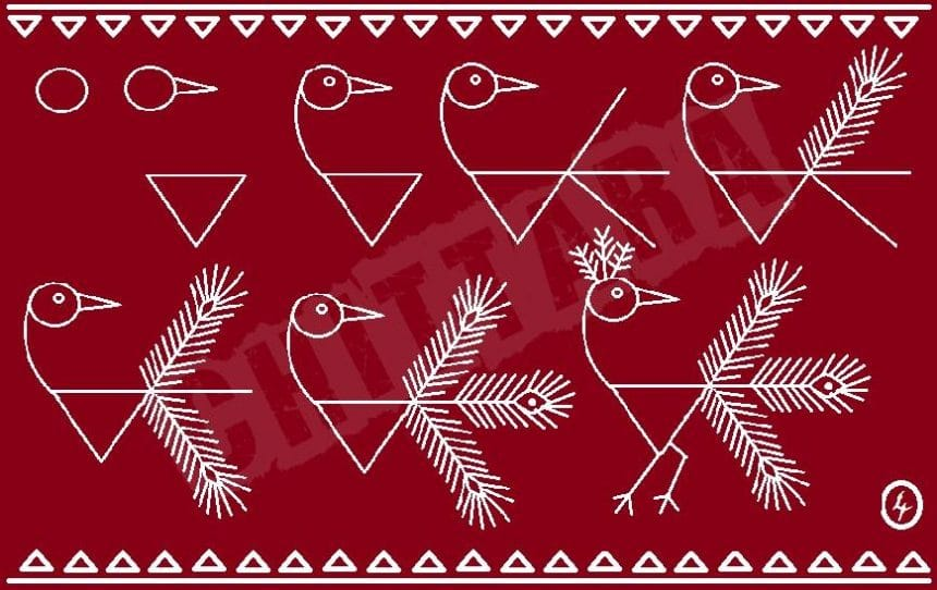 Warli Art Basic Tutorial Simple Craft Ideas