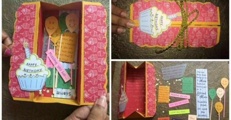How to make easy box card