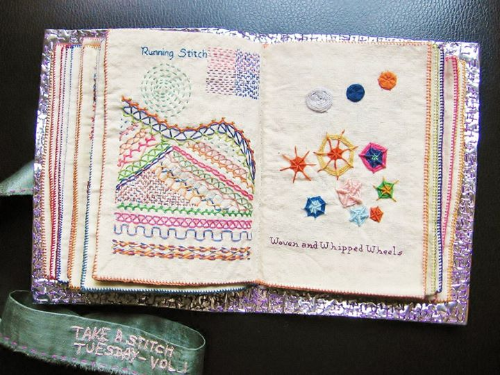 How to make sample stitch book simple craft ideas