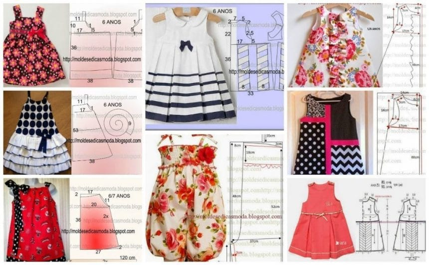 How To Make Different Type Of Frock Simple Craft Ideas