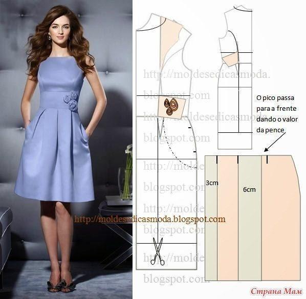 Как сшить платье своими руками модели