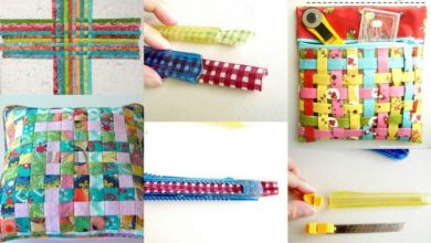 The strips of fabric for woven fabric