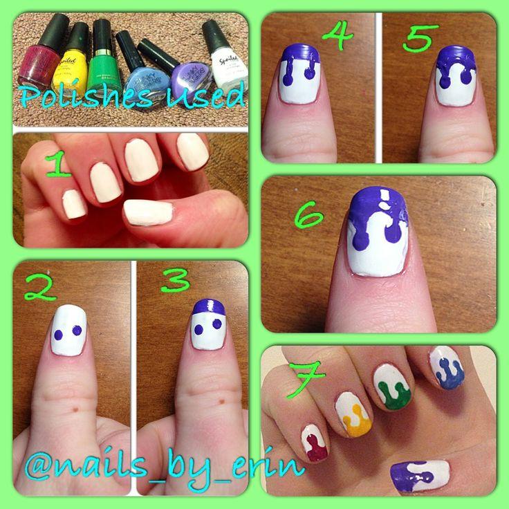 Drip nail art gallery nail art and nail design ideas drip nail art choice image nail art and nail design ideas drip nail art gallery nail prinsesfo Choice Image
