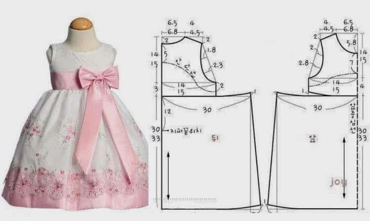 Сшить платья для девочек