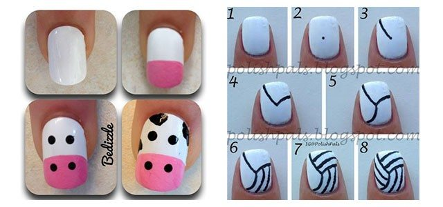 Step-By-Step-Nail-Art-Tutorials-For-Beginners-Learners-2013-2014-F