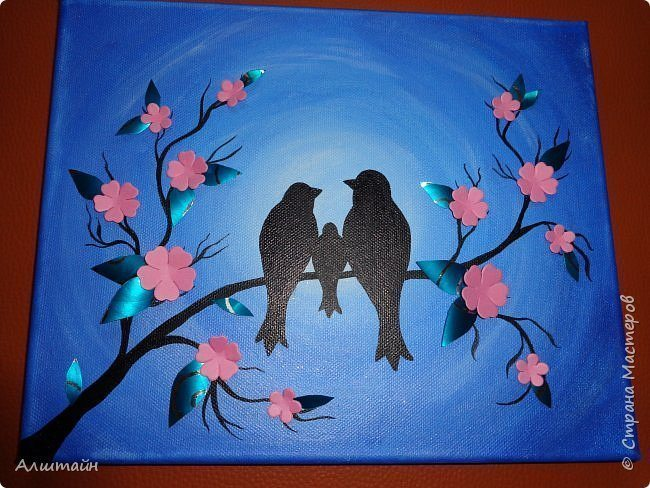 to work you will need list of construction paper or the finished canvas stretched on a frame acrylic paint or watercolor or gouache brush