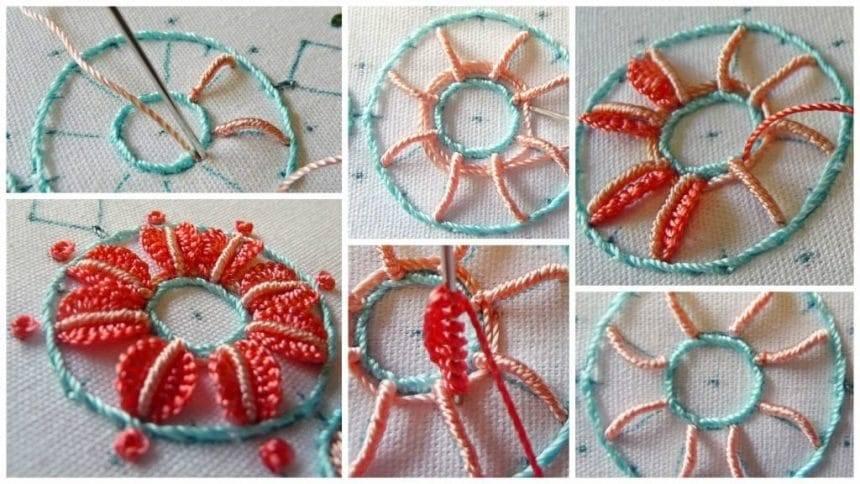 Brazilian Embroidery – Stitch Techniques