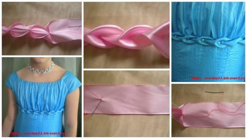 Puffs of ribbons