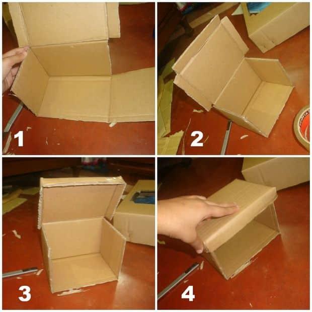 Своими руками из большой коробки
