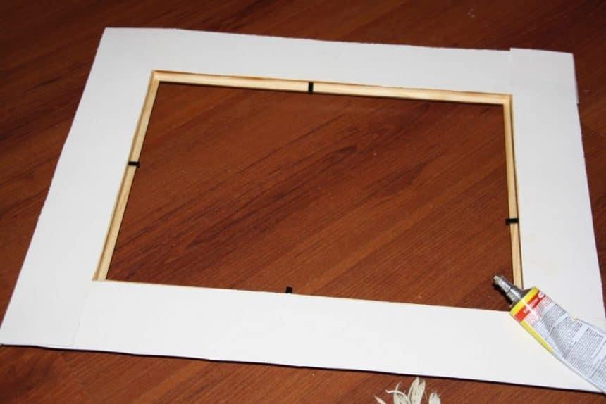 Рамка из картона своими руками а4