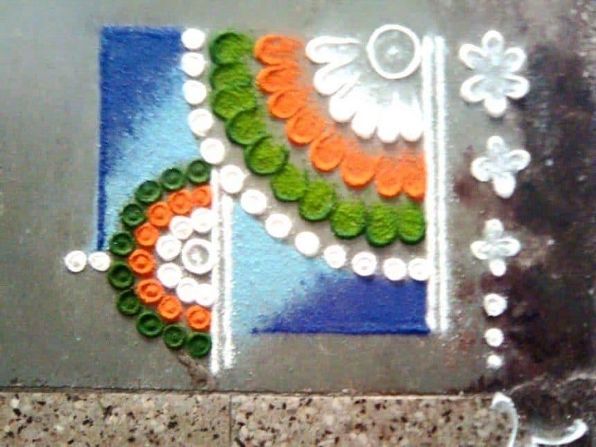 Easy rangoli designs - Simple Craft Ideas