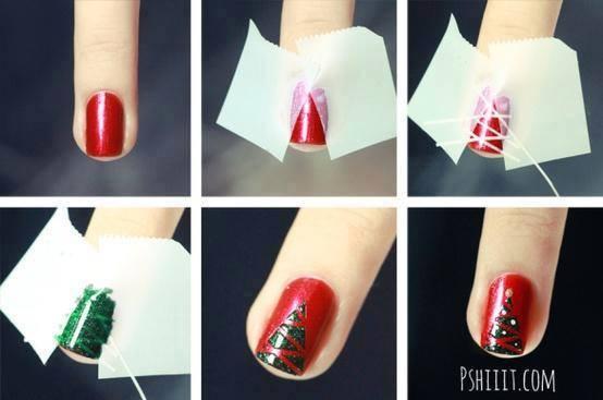 Christmas Nail Art Tutorial(154)