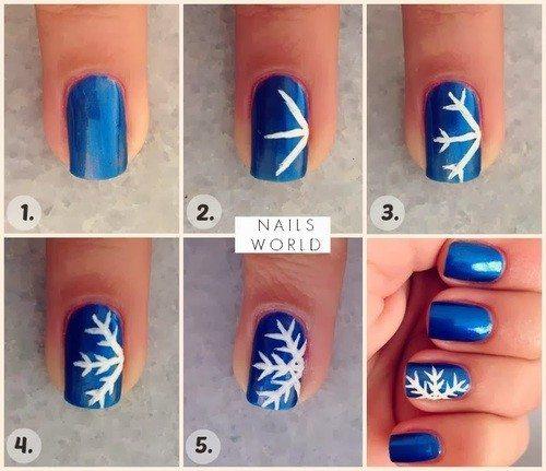 Christmas Nail Art Tutorial(157)