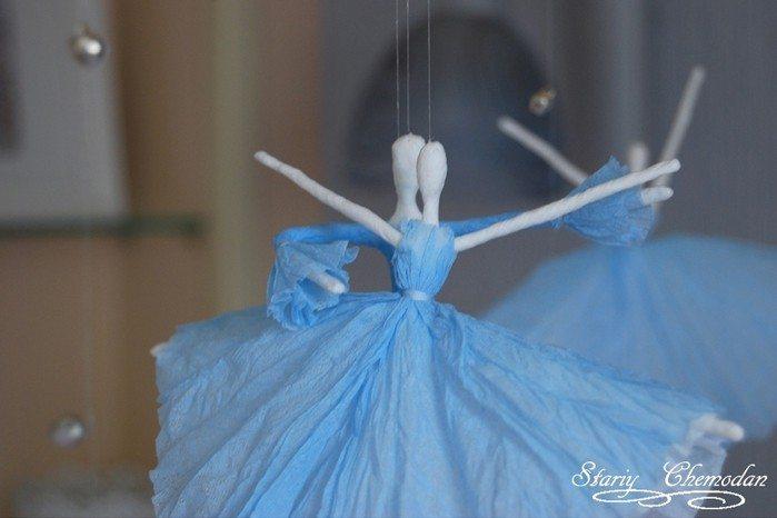 Сделать балерину из проволоки своими руками