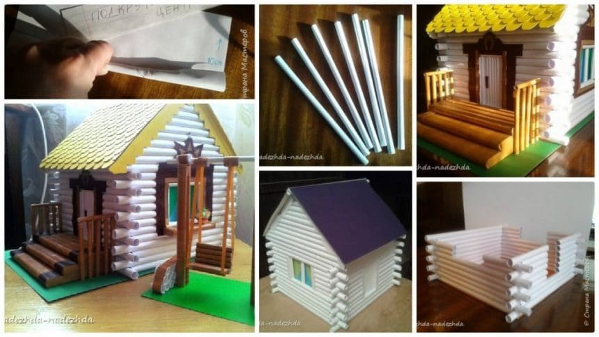 how to make house from paper tube simple craft ideas rh simplecraftidea com  paper tube house japan