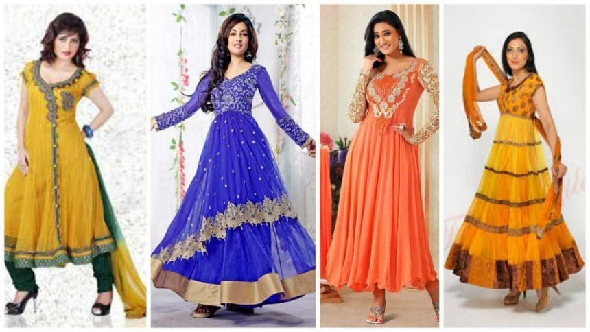 How to make different types of anarkali churidar