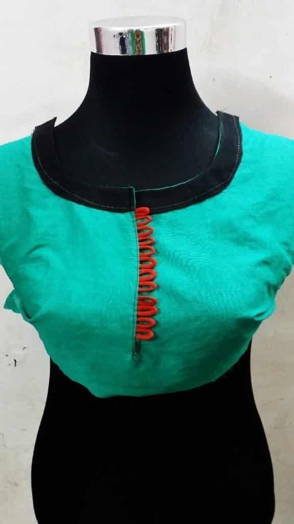 Latest Neck Design for Kurtis